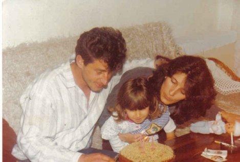 My third birthday. Beforeour world changed.